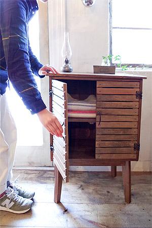 KOMFORTA Wood cabinet