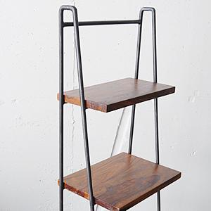 Iron Wood Display Ladder