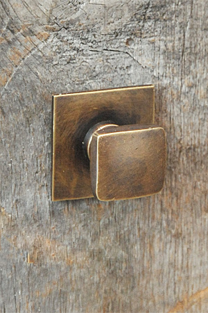 Antique Brass Pull Square 2