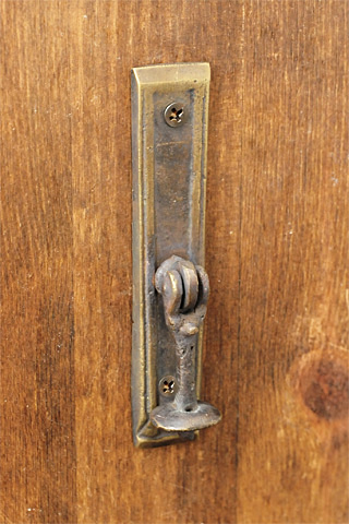 Antique Brass Pull Knock