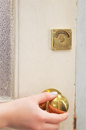 真鍮 表示錠