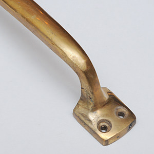 SOLID BRASS Plane Handle Gold