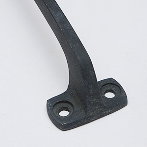 SOLID BRASS Square Pull Black