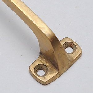 SOLID BRASS Square Pull Gold