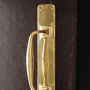 Brass Doorhandle GRIP