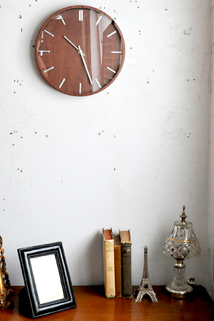 Woody Clock Oak