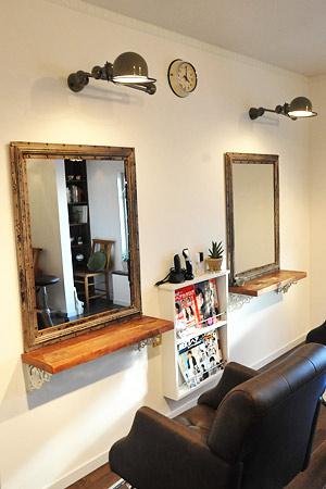 STEEL Frame Mirror