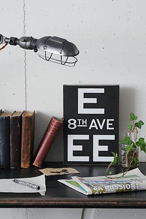 Wood Mini Signboard Type K