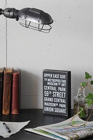 Wood Mini Signboard Type R