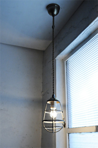 Industrial Cage Lamp Pendant