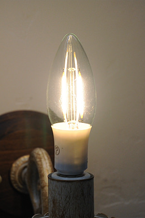 Candle Light LED 001 E17/30W