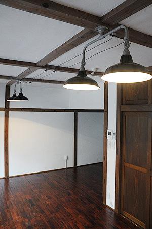 Tin Shade Lamp 2 Black