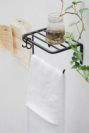 Plain Iron Toilet Paper Holder Top board