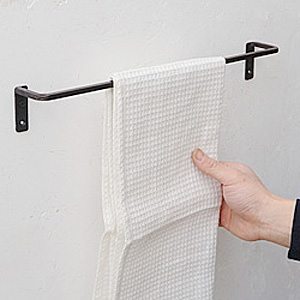 Rough Iron Towel Bar Msize