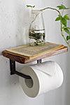 Wood Top トイレットペーパー ホルダー